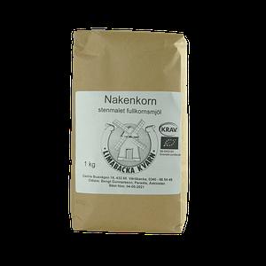 Nakenkornmjöl 1 kg Limabacka