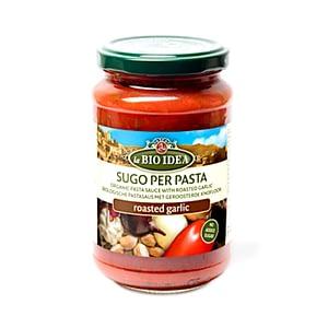 Italiensk tomatsås/pastasås rostad vitlök 350 g