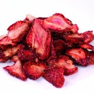 Torkade jordgubbar 75 g