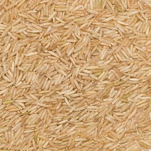 Ris basmati brunt