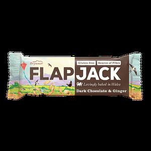 Flapjack mörk choklad & ingefära 80 g