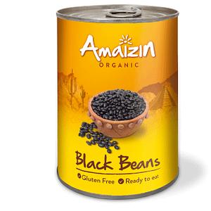 Svarta bönor 400 g