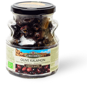 Svarta oliver kalamata 165g