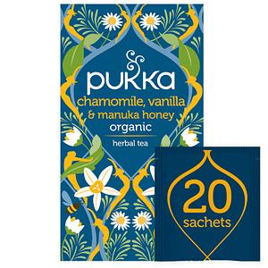 Pukka Chamomile Vanilla & Manuka Honey