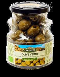 Gröna oliver 165g
