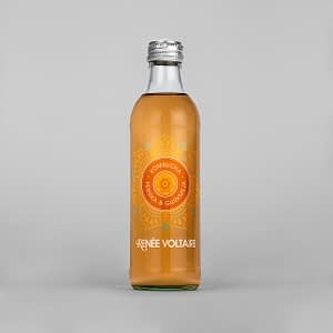 Kombucha persika & gurkmeja 275 ml